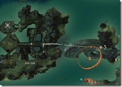 GW2 Malchor's Leap Map, waypoints, points of interests, and vistas