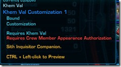 nocompanioncustomization