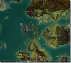 GW2 Professor Portmatt's Lab Bloodtide Coast jumping puzzle guide