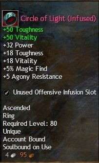 gw2 how to get ascended gear