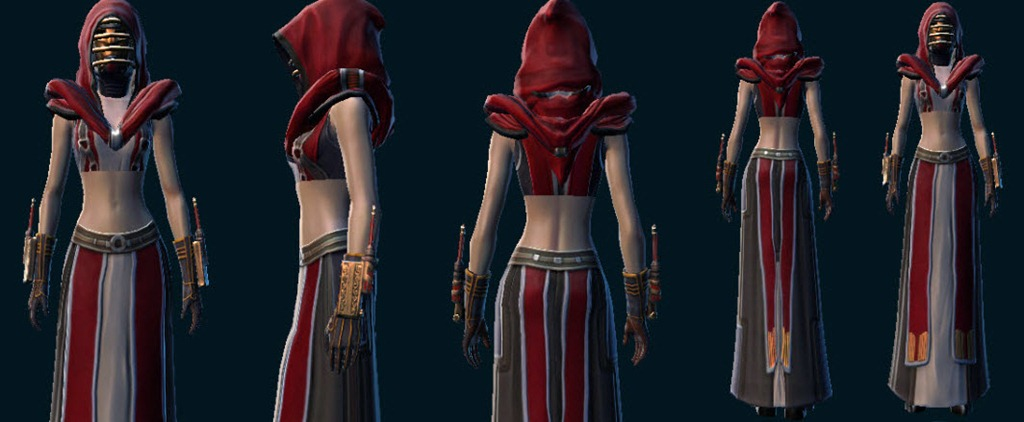 Star Wars The Old Republic Female Robes Ugh Page 8