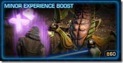 minor-experience-boost