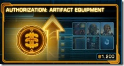 swtor-authorization-artifact-equipment