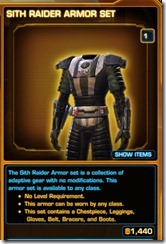 SWTOR Imperial Covert Pilot Suit - Galactic Starfighter Gear - YouTube