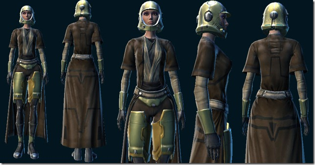 SWTOR Space Pirate's Cartel Pack items
