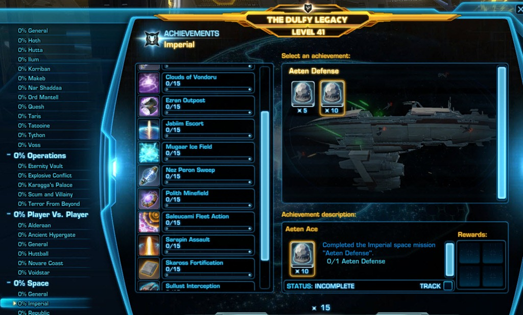 Swtor ord mantell legacy achievements