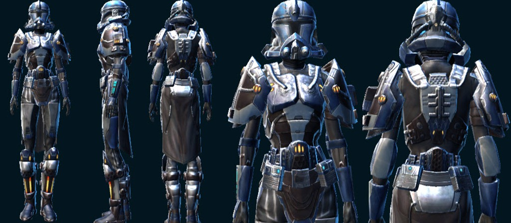 Star Wars The Old Republic What Gear Looks Like This