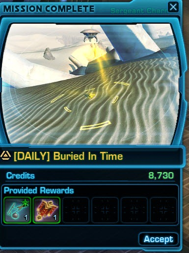 Swtor gsi mission dailies guide dulfy for Buried in time