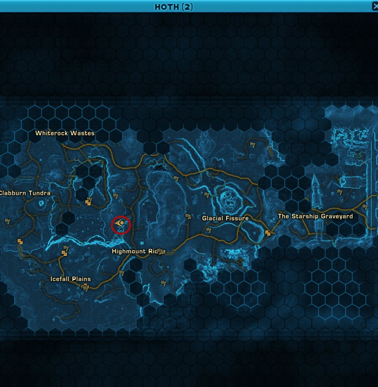 swtor dreadseed and star forager armor locations guide dulfy, wiring, icefall plains location world map hoth