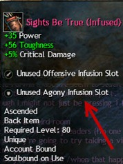 GW2 Agony infusions slot and agony resist guide