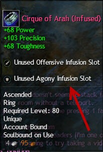 Infusion slots gw2