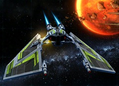 Swtor galactic starfighter paint jobs color modules and for Dark green paint job