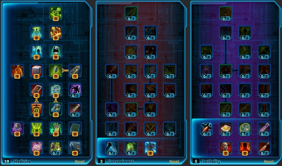SWTOR Imperial Agent Healing Guide | GuideScroll