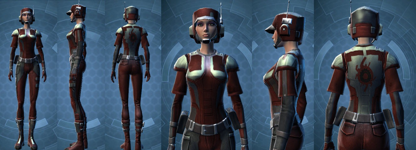 SWTOR Interplanetary Component Exchange Reputation vendor items