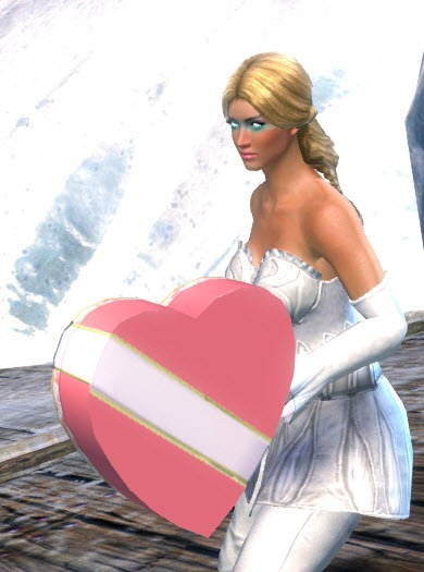 GW2 Musical Harp And Box Of Chocolates In Gemstore