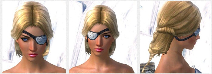 GW2 Magnus's Eye Patch and Thresher-Sickle 5000 in Gemstore