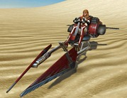 High res gallery of SWTOR speeders and mounts