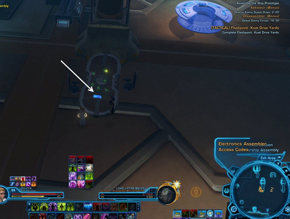 SWTOR Kuat Drive Yards Tactical Flashpoint guide - Dulfy