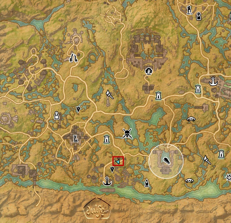 eso how to get to shadowfen