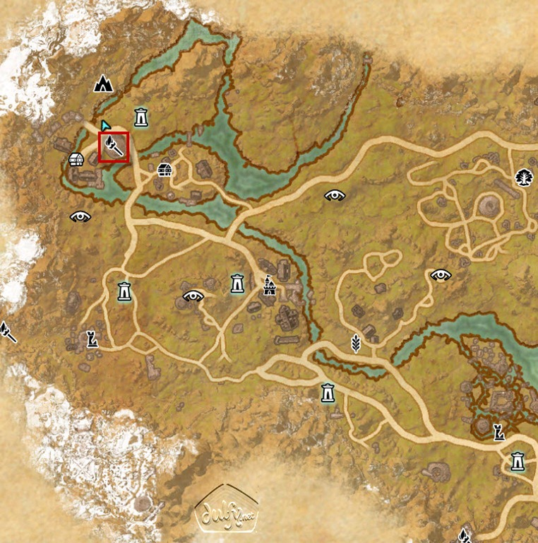 Eso The Rift Skyshards Guide Dulfy
