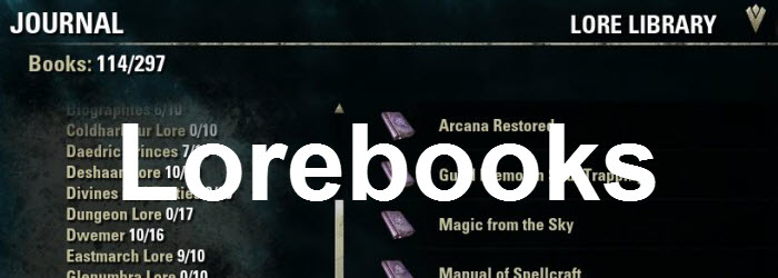 ESO Eastmarch Lorebooks Guide