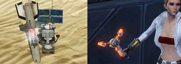 SWTOR Data Entry and Corsec Electrobaton in CM
