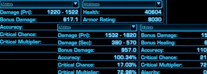 SWTOR Mechanics Basics: Understanding Expected Damage