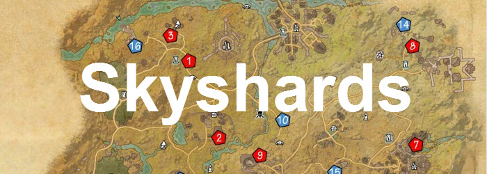 ESO Coldharbour Skyshards Guide