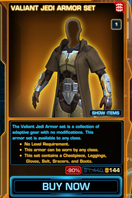 swtor how to get treek for free