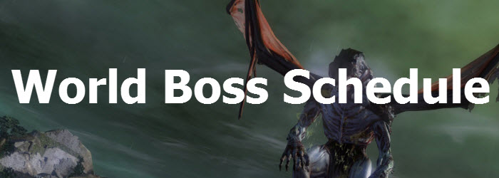 GW2 World Boss Schedule