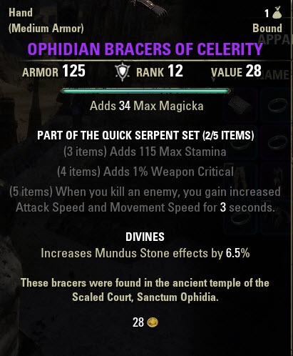 Eso Crafted Sets Guide
