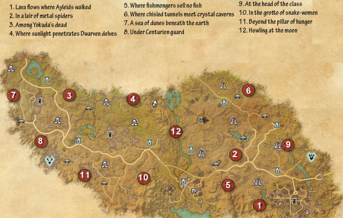 deshaan treasure map 3 with Coldharbour Skyshards on Coldharbour Skyshards likewise 1 together with Eso Ce Treasure Maps Location Guide moreover The Tower besides ZGVzaGFhbiBtYXAgZXNvIGJvc3M.