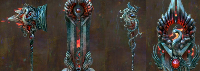 GW2 Phoenix Weapon Skins Gallery