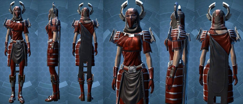 STAR WARS: The Old Republic - Garderoben-Problem