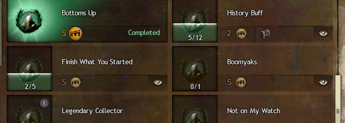 GW2 The Dragon's Reach Part I Explorer Achievements Guide