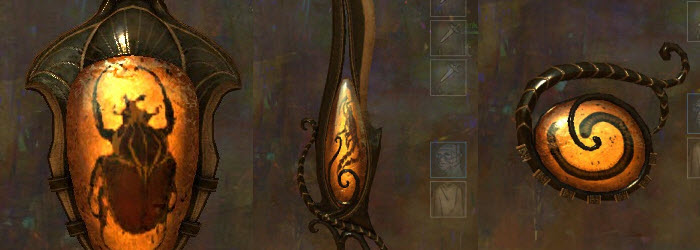 GW2 Ambrite Weapon Skins Gallery