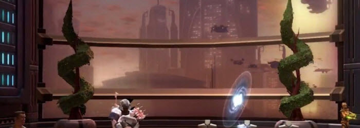 SWTOR Galactic Living Coruscant Apartment Livestream Notes