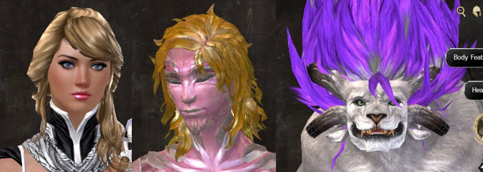 GW2 Entanglement New Hairstyles in Makeover Kit