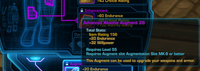 SWTOR Mechanics Basics: Understanding the Debate on Best Augments