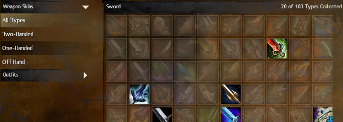GW2 Wardrobe Weapons Acquisitions Guide by Sakri - Dulfy