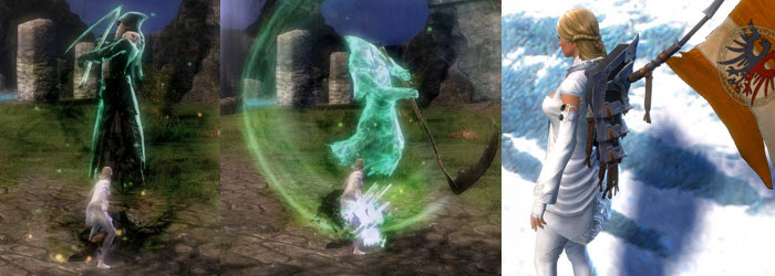 GW2 Gemstore–Mist Herald Backpack, Harvesting Node and Avatar of Death Finisher