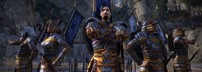 ESO Interview with Voice Actor Raphael Corkhill