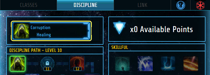 SWTOR Disciplines Calculator by swtor_miner
