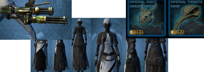 SWTOR Oct 22 Collections Update–New Halloween Items