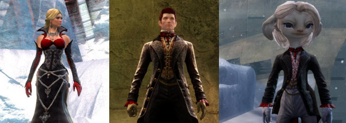 GW2 Noble Count Outfit and Hexed Outfit