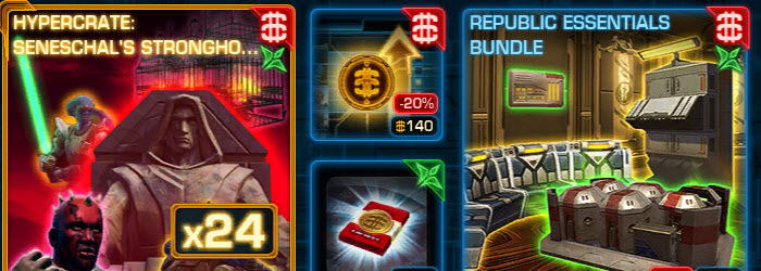 SWTOR Oct 21 Cartel Market Update–Imperial & Republic Bundles