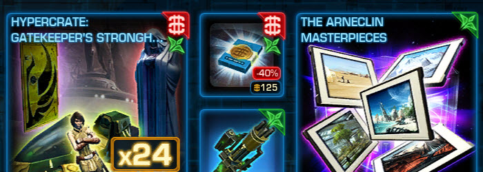 SWTOR Cartel Market Sales Nov 25- Dec 2–New artwork decorations