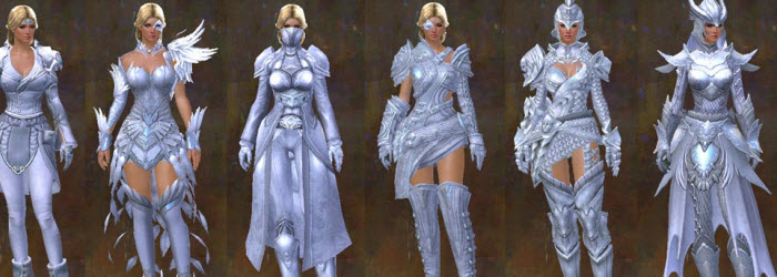 GW2 Glint's Winter Dye Kit and World Series Finishers