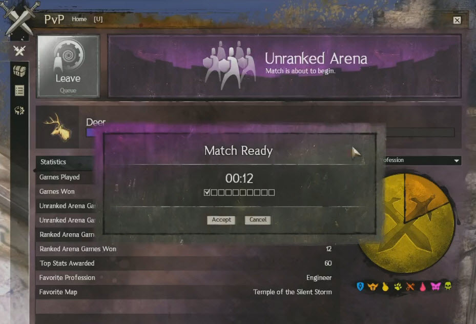matchmaking gw2 Some of us play guild wars 2 to, you know, destress thick skin or not, nobody should consistently have to deal with the poor attitudes and abuse of others in a videogame that behavior is exactly why i began to avoid ranked and i've enjoyed pvp so much more since then.