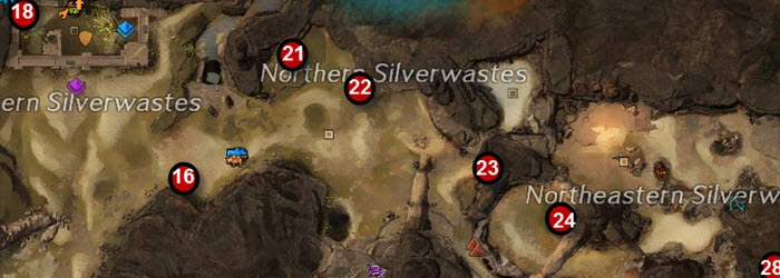 GW2 Lost Badge Silverwastes Achievement Guide